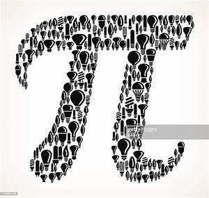 Pi Symbol On Royalty Free Vector Lightbulb Pattern