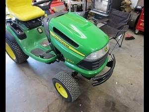 Welding Repair On John Deere La165 Lawn Tractor Deck