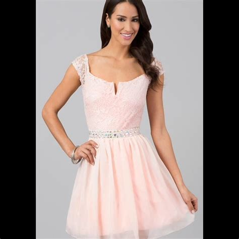 light pink dress with sleeves 27 deb dresses skirts light pink