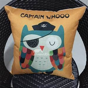 owl cool kids yellow cartoon animal cheap throw pillows With cheap kids pillows