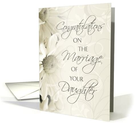 congratulations  marriage  daughter card white
