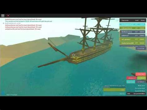 Whatever Floats Your Boat How To Build by Roblox Whatever Floats Your Boat Pirate Ship
