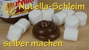Schleim Ohne Kleber Selber Machen : essbaren nutella schleim selber machen nur 2 zutaten ohne kleber youtube ~ Frokenaadalensverden.com Haus und Dekorationen