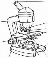 Microscope Drawing Compound sketch template