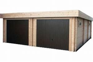 Garage Bois 20m2 : garage bois garage en bois kit pr t monter ~ Melissatoandfro.com Idées de Décoration
