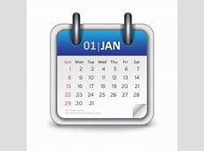 Calendar icon vector Free Download CdrAi