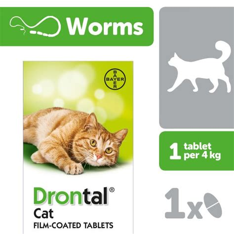 drontal cat worming tablet  tablet  sale