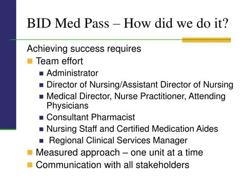med bid ppt bid med pass project michael d crowley md faafp