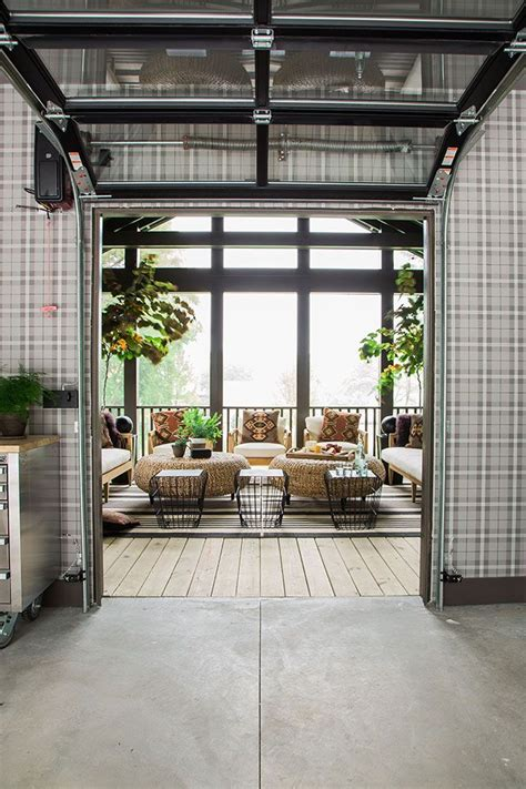 glass garage door for patio 300 best images about glass garage doors by clopay on