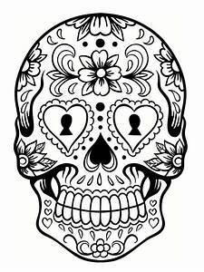 Tete De Mort Mexicaine Dessin : dessin mandala tete de mort awesome coloriage t te de mort ~ Melissatoandfro.com Idées de Décoration