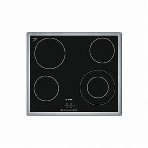 Cadre Inox Pour Plaque Vitroceramique : plaque vitroceramique bosch 4 foyers noir cadre inox ged ~ Premium-room.com Idées de Décoration