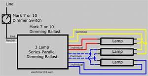 Dimming Ballasts Wiring