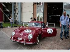 Roland Iten commemorates the Mille Miglia race with