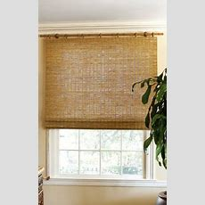 Japaneseinspired Matchstick Blinds Window