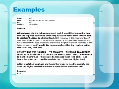 How To Mention Reference In Application Email by Email Etiquettes 110