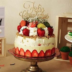 Feliz Cumpleanos Birthday Cake Topper – Duel Design Shop