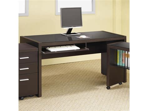 computer desk for home coaster home office computer desk 800901 fiore furniture
