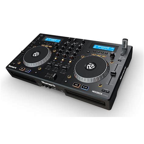 usb cd player numark mixdeck express dj controller dj usb mp3 cd player audio interface ebay