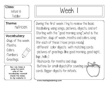 6 weekly lesson plans for todller and infant by 138 | original 3304179 1