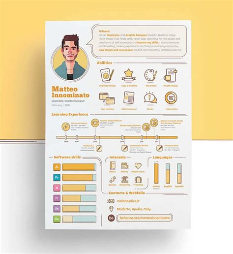 Creative Resume Templates by Creative Resume Templates 16 Exles To Guide