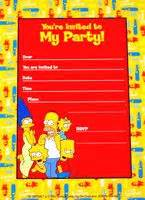 foto de Simpsons birthday party ideas on Pinterest Homer Simpson