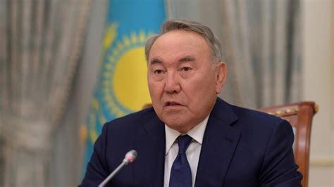 kazakh president nursultan nazarbayev steps