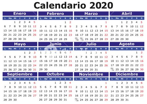 vector calendar spanish easy edit apply