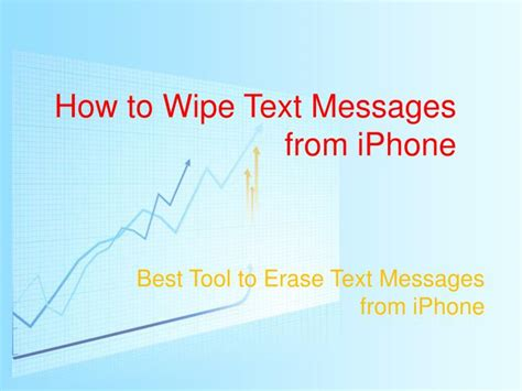 how to wipe a iphone ppt how to wipe sms messages from iphone powerpoint