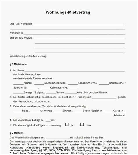 Kündigung Mietvertrag Vorlage Mieterbund by Mietvertrag Stellplatz Vorlage Kostenlos Mietvertrag