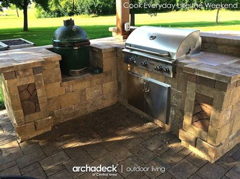 outdoor kitchen green egg the world s catalog of ideas 3855