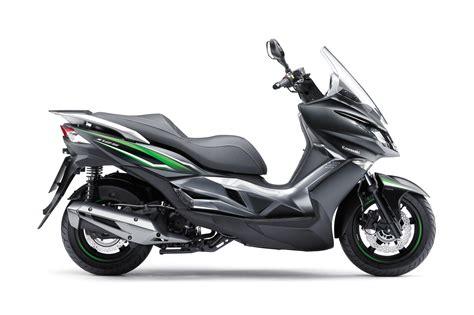 Kawasaki Announces Its First 125cc Scoot...