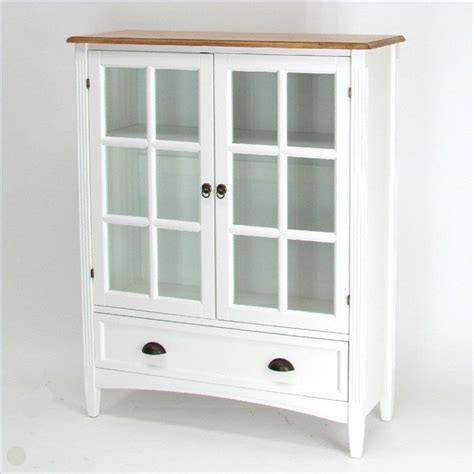 wood bookcase with glass doors wayborn 1 shelf barrister bookcase with glass door wood in