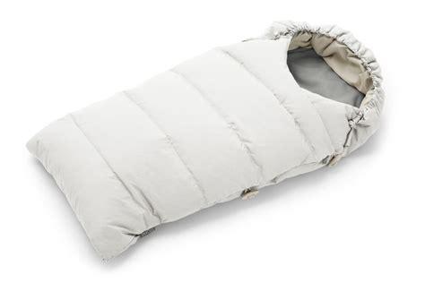 stokke sleeping bag  pearl white