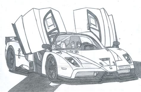 How To Draw A Enzo by Enzo Evoluzione By Jmig3 On Deviantart
