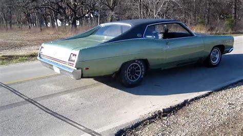 1969 Ford Xl Burnout