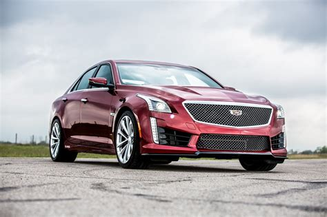 Watch Hennessey Put Its 750hp Cadillac Ctsv Through Its