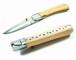Couteau à Bois : couteau pliant 21 5cm bois acier couteau pliant ~ Edinachiropracticcenter.com Idées de Décoration