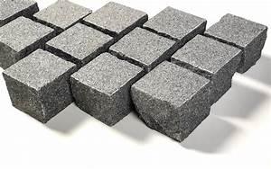 Pflastersplitt Berechnen : granit edelkleinpflaster 10x10x8 cm dunkelgrau ~ Themetempest.com Abrechnung