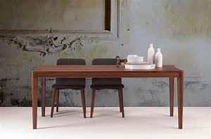 Tavolo in legno per la sala da pranzo e la cucina idfdesign for Tavoli di legno per cucina