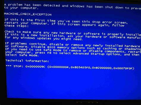 Windows Xp Random Blue Screen