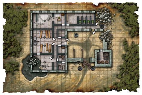 dwarvenmonastery fantasy map