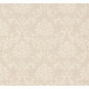 AS Creation Classic Damask Pattern Fabric Motif Textured ...