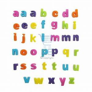 40 mini alphabet letters fridge magnets multicolured ebay With refrigerator letter magnets