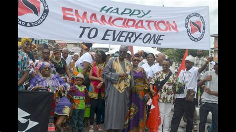 Emancipation Day in Trinidad, August 1st, 2017 - Part One ...