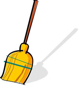 Broom Clip Sweeping Broom Clipart Clipart Suggest