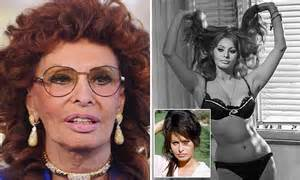 Sophia Loren admits she never tires of being told she's