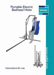 Portable Electric Bedhead Hoist User Guide