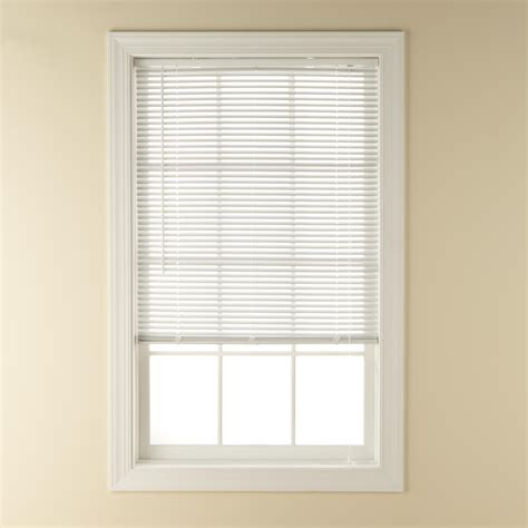 sears window treatments blinds room darkening 1 inch vinyl blind great functionality