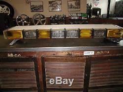 Whelen Amber Light Bar Used Whelen Edge Emergency White And Amber Roof Led Light