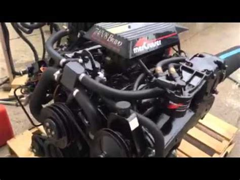 newly rebuilt 7 4 454 v8 marine engine with low hrs 5 13